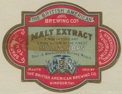 Malt Extract (Thomas Fisher Rare Book Library, UofT) Tags: ontario canada beer vintage label universityoftoronto windsor medicine tonic invigorating hops strengthening maltextract breweriana thomasfisherrarebooklibrary thebritishamericanbrewingco