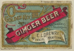 Golden Key Brand Ginger Beer