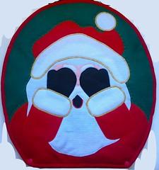 Parte de baixo do tampo do vaso (Monne Arts) Tags: natal tampa de noel kit feltro tapete jogo vaso banheiro lavabo papai tampo