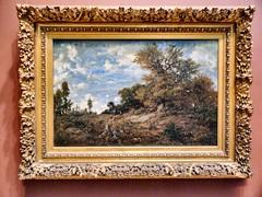 The Edge of the Woods at Monts-Girard_TheMET(4) (rverc) Tags: nyc art met metropolitanmuseum europeanpaintings théodorerousseau bench232