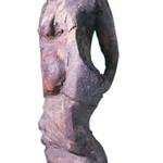 "<b>Standing Female Figure</b><br/> Frans Wildenhain (1905-1980) ""Standing Female Figure"" Clay, ca. 1950-55 LFAC #891<a href=""http://farm8.static.flickr.com/7152/6438693187_6f8e563e0e_o.jpg"" title=""High res"">∝</a>"