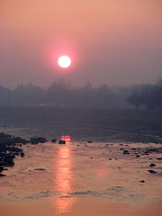 One of these days.. (dobro_drvo) Tags: sunset red sun river serbia srbija reka zalazak crveno sunce zajear timok coth5 mygearandme mygearandmepremium mygearandmebronze