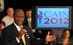 Herman Cain (Steve Lindenman) Tags: us southcarolina rockhill hermancain lindenman cpmg1211sa