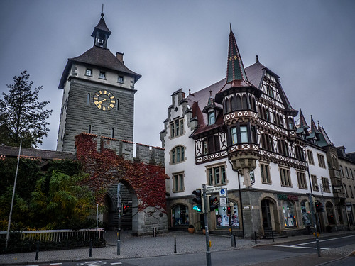 Old city gate at Konstanz Germany