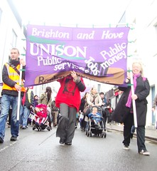 Brighton & Hove Unison (brightondj) Tags: uk march brighton protest demonstration strike unions n30 unison tradeunions november30thstrike brightonhoveunison