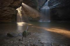 Salt de la Foradada (christian&alicia) Tags: bw water waterfall nikon salt sigma natura catalonia catalunya 1020 aigua osona foradada catalogne collsacabra d90 cantonigros nd1000 nd110 christianalicia ilobsterit