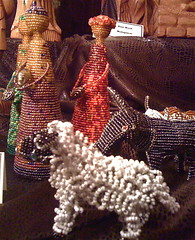 beaded, South African nativity