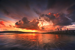 IS NOT AN ANGRY SKY,,,, (ManButur PHOTOGRAPHY) Tags: ocean light sunset red sea sky bali sun motion beach nature canon indonesia landscape eos asia east usm filters polarizer efs 1022mm hitech cpl kuta freez gnd sillhuette 450d