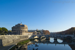 "Castel Sant'Angelo & Ponte Sant'Angelo • <a style=""font-size:0.8em;"" href=""http://www.flickr.com/photos/89679026@N00/6478198403/"" target=""_blank"">View on Flickr</a>"