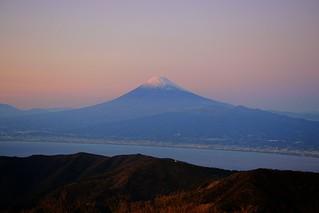 Mt.Fuji from Izu Peninsula