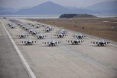 111202-F-ER496-146 (Official U.S. Air Force) Tags: tarmac taxi jets formation airforce douglas southkorea runway 8th elephantwalk wolfpack airbase misson republicofkorea f16fightingfalcon kunsan aircrews falconfighter 149th northjeollaprovince gunsancity