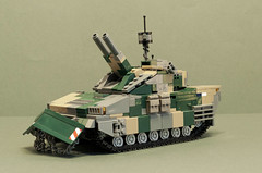CV-120A2 AMOS (3) (Aleksander Stein) Tags: light fire support tank lego military mortar vehicle amos charger 120mm ndc hgglunds mrsi cv120