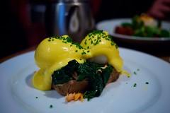 The Providores brunch (fabiolug) Tags: food london toast egg salmon eggs brunch spinach foodphotography londonist gf1 pancakelens theprovidores pochedeggs walnuttoast microfourthirds panasoniclumixgf1 panasoniclumix20mmf17