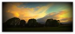 Effet de foehn sur le plateau de Lannemezan (Hautes Pyrnes, France). (Grard Farenc (slowly back) !) Tags: trees sky france clouds vent ciel arbres heat nuages 65 chaleur hautespyrnes foehn lannemezan