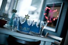 Crown fit for a king (Dan Chippendale) Tags: christmas leica hat table 50mm lights wine bokeh voigtlander f11 nokton m9 bokehballs leicam9 voigtlandernokton50mm11