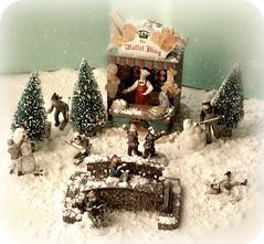 La primera nevada del invierno (Noia Land) Tags: christmas snow navidad nieve scene diorama escena
