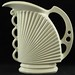 180. Czech Art Deco Ceramic Pitcher
