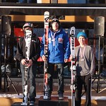 Brodie Seger fastest J1 at Miele Cup GS, Panorama; Patrick Carry 3rd J1 PHOTO CREDIT: Brandon Dyksterhouse