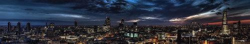London Sunrise - Panorama