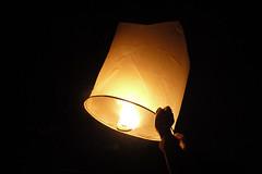 light up (Agnes Gail) Tags: light night dark hope wish skylantern floatinglantern