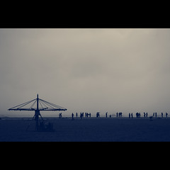 Calm & Moody Marina Beach (VinothChandar) Tags: people india beach nature danger marina canon dark photography photo moody photos empty calm photograph 5d thane chennai cyclone emptiness tamilnadu mylapore canoneos5dmarkii chennaimarinabeach