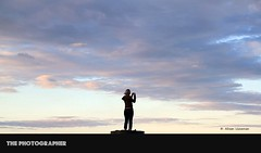 The photographer (Ahsan. (Off / On)) Tags: she blue light sunset newzealand cloud mountain nature girl clouds photography evening focus alone loneliness colours dof lonely eka canon7d 1755usm ekaki mygearandme mygearandmepremium musictomyeyeslevel1
