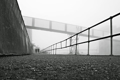 ** (gagilas) Tags: mist lines fog wall delete10 thames architecture fence delete9 delete5 delete2 kent delete6 delete7 save3 delete8 delete3 running run delete delete4 save save2 save4 runners belvedere save5 save6 industial tworunners
