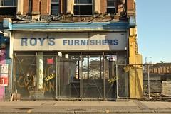 Roy's Furnishers, Rye Lane, Peckham, SE15 (J@ck!) Tags: london abandoned closed demolition shopfront peckham se15 furnitureshop ryelane londonboroughofsouthwark