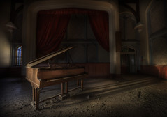 Sanatorium SH (andre govia.) Tags: uk canon hall photo photos decay main piano andre sanatorium asylum derelict govia