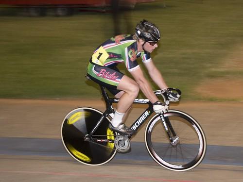 Peter Bennett on Track