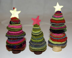 recycled sweaters wool trees