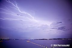 Belmont Lightning 81121 (RGA Photography) Tags: storm clouds canon belmont nsw bolt lightning 5dmkii