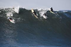 Mavericks (coastalcreature) Tags: ocean california surf wave surfing halfmoonbay swell mavericks bigwaves