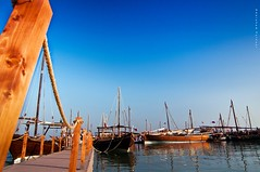 Porto Arabia (puthoOr photOgraphy) Tags: ship shore arabia doha qatar dhow lightroom westbay dohaqatar d90 adobelightroom nikond90 dohabay lightroom3 tokinaaf1116mm amazingqatar tokina11 puthoor arabianship gettyimagehq