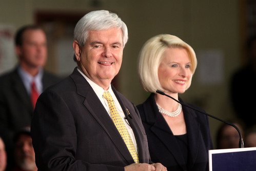 Newt Gingrich's Idea of Traditional Marriage Looks a Lot Like What Conservatives Fear About Gay Marriage