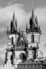 Old Town Church (Constantine016) Tags: old church town prague gothic praha tn namesti starometske