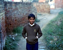 (Benjamin Skanke) Tags: world new boy portrait india 120 film analog vintage children kid asia pentax takumar kodak medium format 24 6x7 sikh punjab expired portra canoscan 67 120mm 105mm 400nc