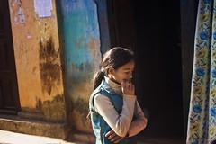 Evening Games (Sai Abishek) Tags: nepal portrait girl canon evening alone colours pastel candid documentary social games sai though bandipur abishek 50d
