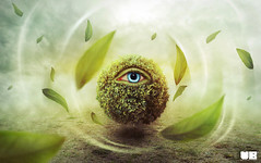 Father of Nature (balt-arts) Tags: plant eye nature forest leaf surreal ivy fantasy baltasar vischi