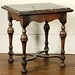 227. Antique English Marble Top Table