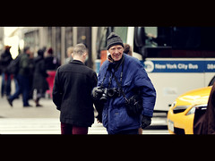 Master- Bill Cunningham ([~Bryan~]) Tags: street new york nyc film digital photographer manhattan streetphotography master cinematic billcunningham