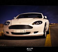 Aston Martin DB9  - M.A.J photography (M.A.J Photography) Tags: street sky white cars car martin super aston db9   mygearandme   on77