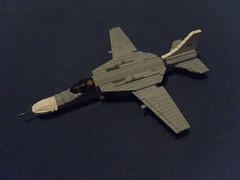 F-91 Kestrel (Ninja Pilot) Tags: plane fighter lego wing jet swing kestrel shorty f91