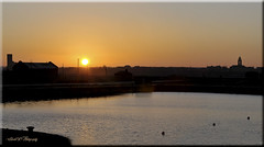 STANLEY DOCK SUNSET (Shaun's Nature and Wildlife Images....) Tags: sunsets shaund