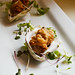 Crispy Fried Oysters with Micro Greens