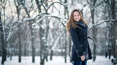 ([]NEEL[]) Tags: winter portrait snow girl outdoor
