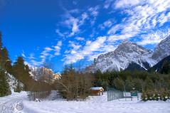 Heaven's not Enough - Hello Blue Sky (Diab') Tags: sky mountain snow landscape austria tirol pentax kr osterreich tyrol zugspitze tonemapping sonnenspitze biberwier
