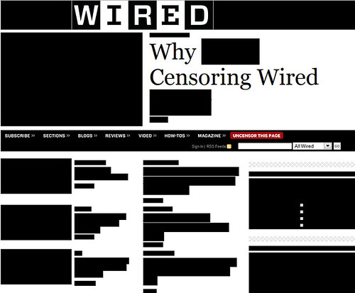 Wired Protests SOPA/PIPA