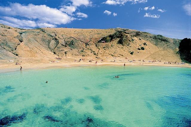 Lanzarote - Papagayo-stranden