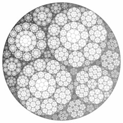 Apollonian Gasket (fdecomite) Tags: circle geometry packing math gasket apollonian